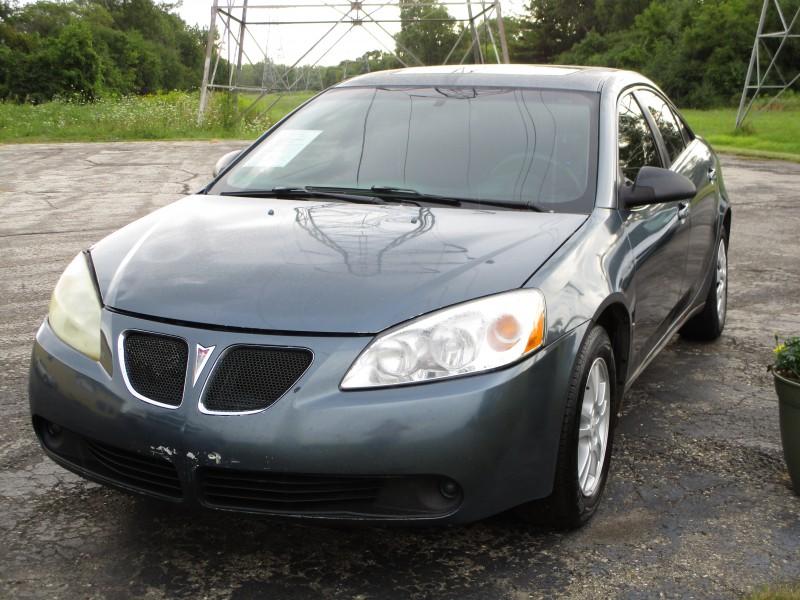 Used 2006 Pontiac G6  grey exterior Stock LS-245576 VIN 1G2ZG558964245576