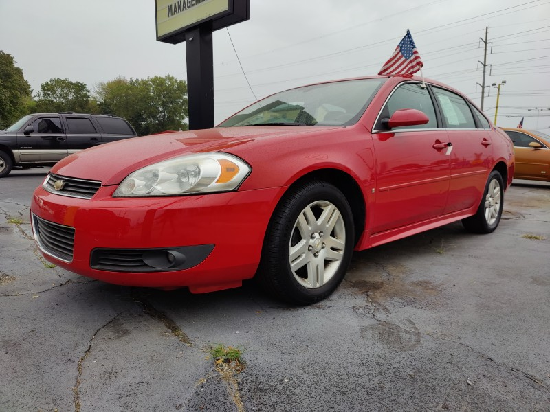 Used 2009 Chevrolet Impala  red exterior Stock LS-291243 VIN 2G1WT57K991291243