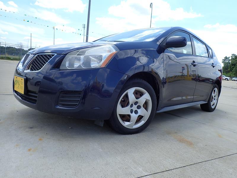 Used 2009 Pontiac Vibe  blue exterior Stock LS-404421 VIN 5y2sp678x9z404421