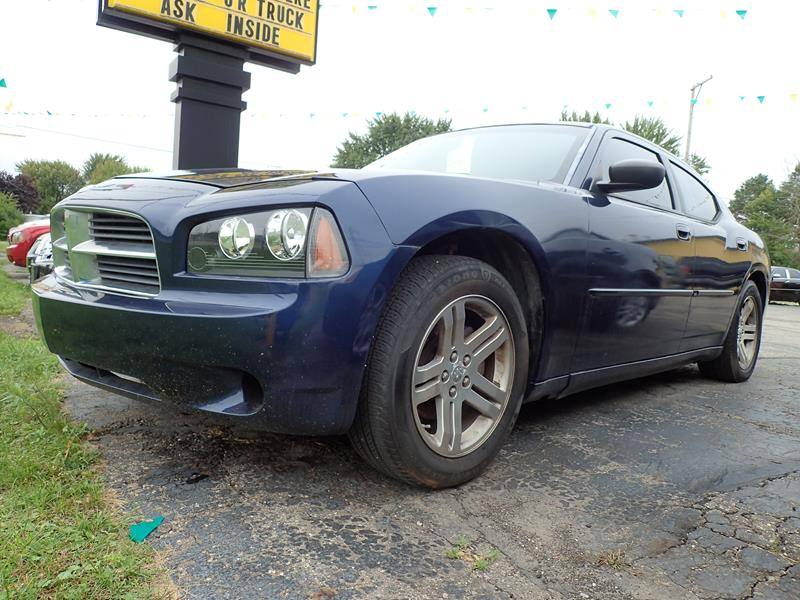 Used 2006 Dodge Charger  blue exterior Stock LS-422532 VIN 2B3KA43GX6H42253